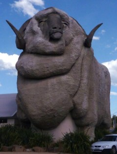 The big ram by Street Talk Savvy found in Australian Slang