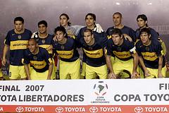Boca Juniors campeón Libertadores 2007.