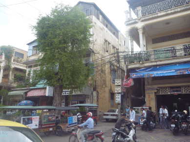 Phnom Penh Street Chaos
