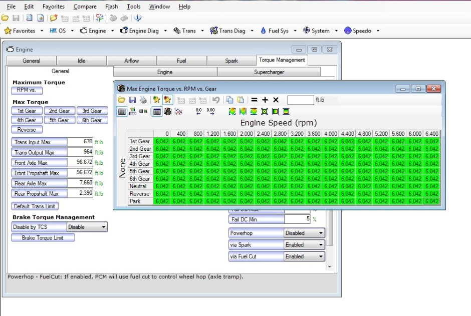 2-HP Tuners - max tq vs rpm