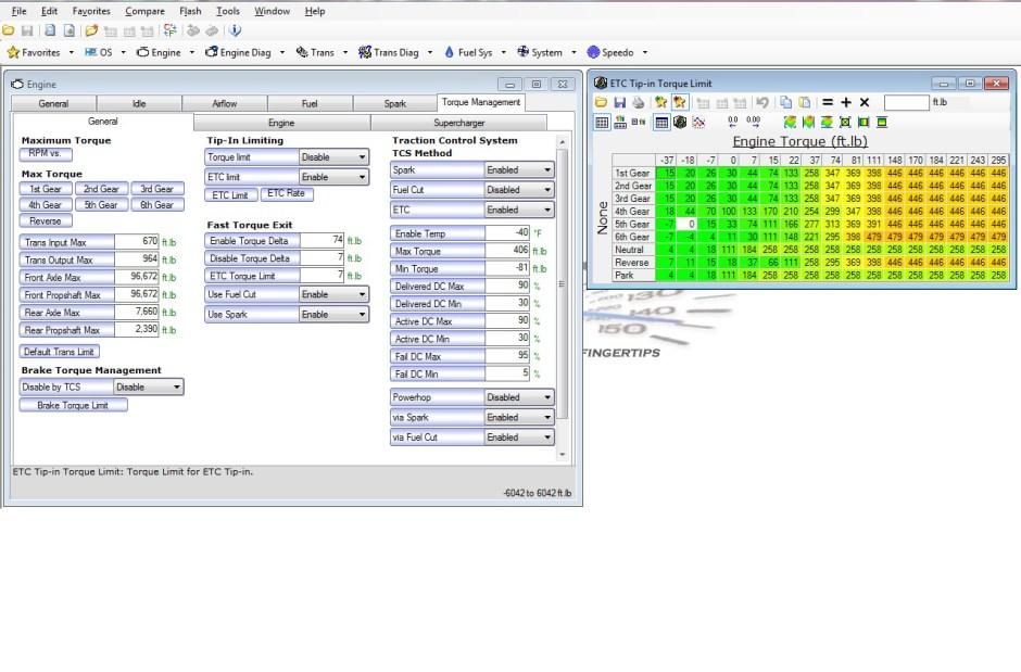 4-HP Tuners - etc tq limit