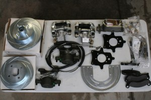 1.The Stainless Steel Brakes kits include everything needed to complete the installation. Each kit is separate, front and rear, and both came with master cylinders.