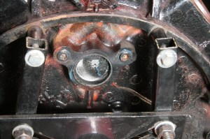 22.The plug needs to be flush with the back of the block, any further and it may keep the camshaft from sliding in all the way.
