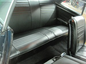 05.The rear bench looks comfy with its fresh upholstery. Which side do you think Sean Penn sat on?
