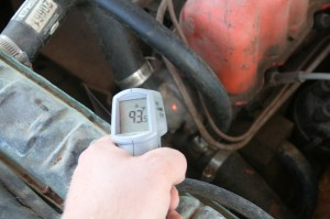 2. An infrared thermometer aimed at various locations on the engine lets you know exactly what the temp of the engine is, regardless of what the gauge is saying. The gauges are usually within 5 degrees, but can be off by 20 or 30 degrees.
