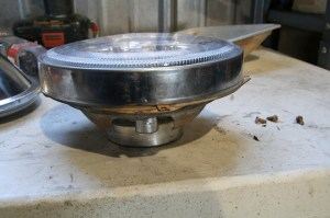 11.Those mods allowed the housing to sit down into the bucket and the retainer ring sat flush to the bucket.