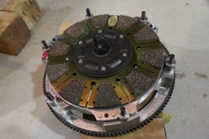 33. To help transfer all of the power to the ground, a new Centerforce DYAD twin-disc clutch was installed. This is incredibly smooth and easy to install. More on that in an upcoming article.