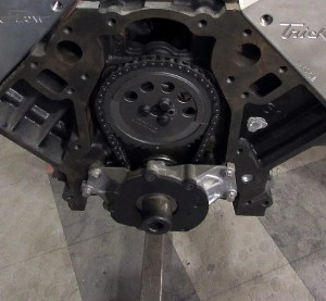 The LS-type oil pump bolts on after the timing chain is installed. You will need these bolts as well.