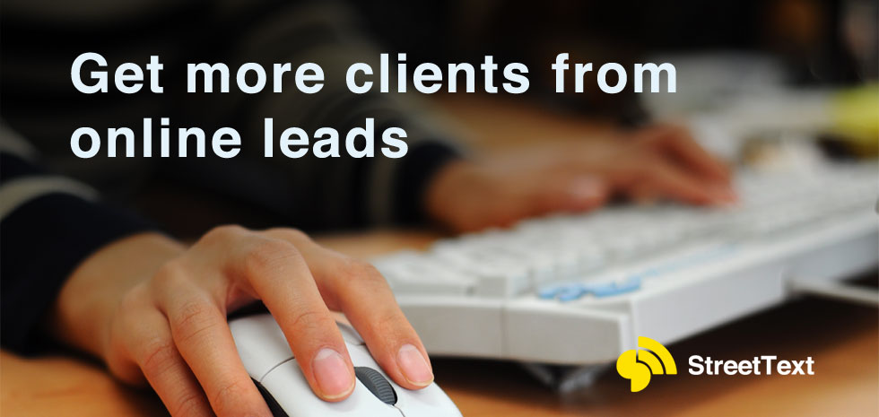 get more real estate clients from online leads