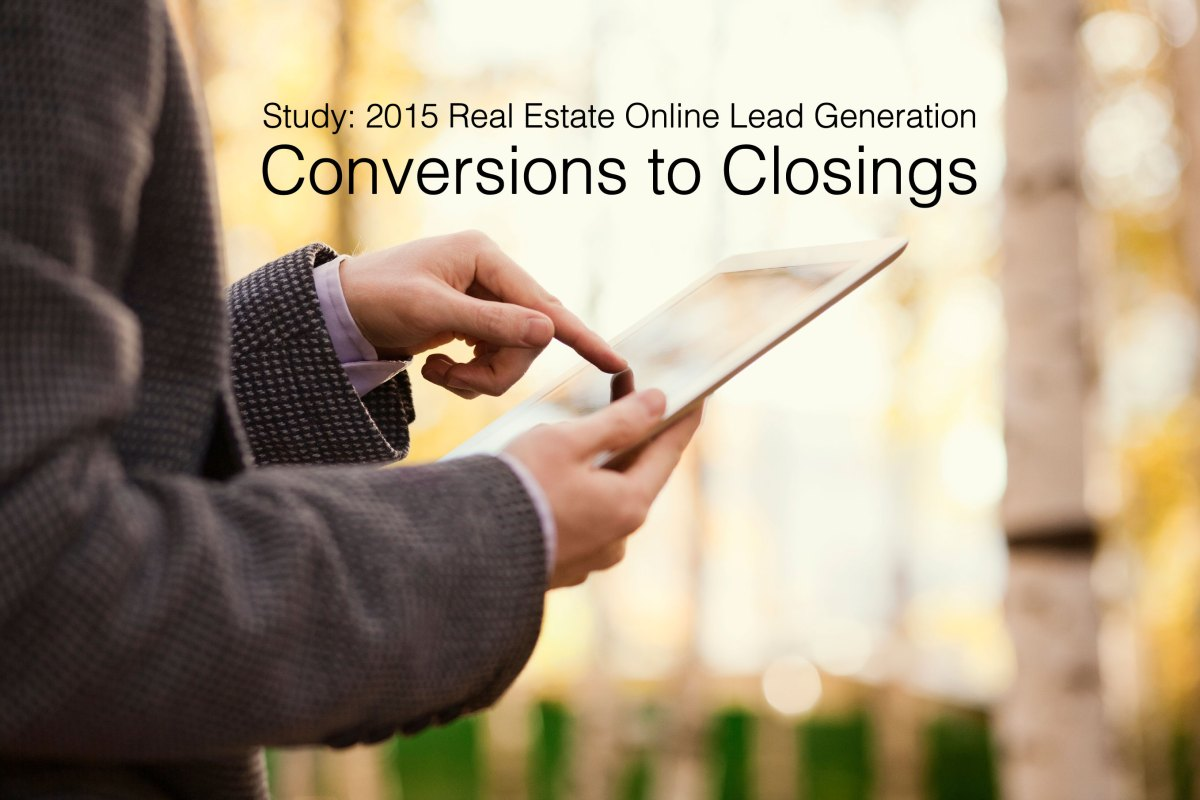 Real Estate Giant Study: Online Lead Conversions & Closings