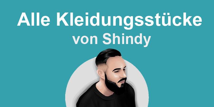 Alle Kleidungsstücke von Shindy Titelbild