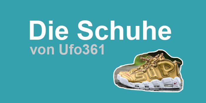 Ufo361 Schuhe | Diese stylischen Schuhe trägt der Rapper