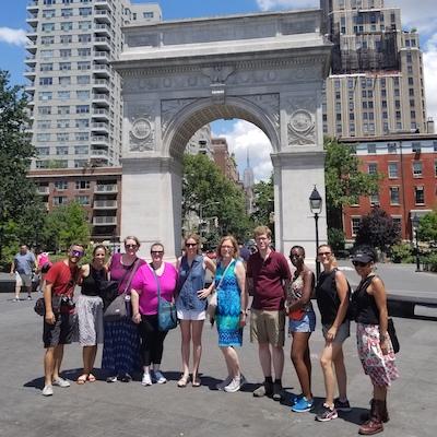 Walking Tour with Washington Square Arch