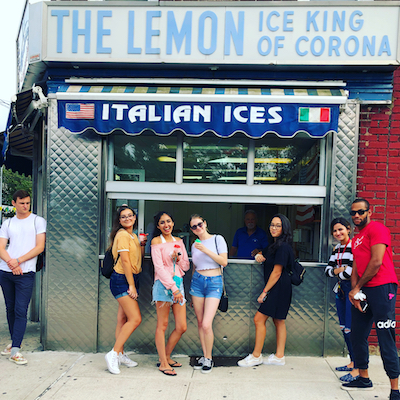Streetwise New York Tours | Walking Tour of Queens at Lemon Ice King of Corona