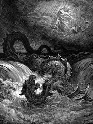 gustave-dore-leviathan-painting-drawing