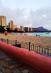 Waikiki Just Before Sunset