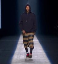 AWS16-Mens Hoodie & Striped Pants