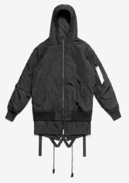 Stampd Bomber Double Layer Black