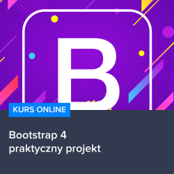 Kurs Bootstrap 4 - praktyczny projekt