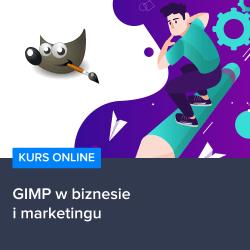 Kurs GIMP w biznesie i marketingu