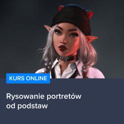 Kurs Rysowania portretów od podstaw