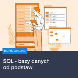 Kurs SQL - bazy danych od podstaw