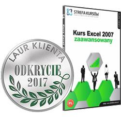 Kurs Excel 2007 zaawansowany - Kurs Excel 2007 zaawansowany