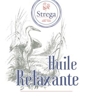 Huile de Massage Relaxante bien-être onctueuse naturel bio biologique France
