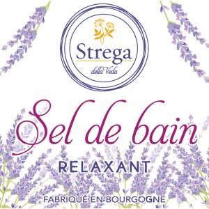 Sel de bain relaxant bio biologique naturel beauté de la peau naturel bio biologique France