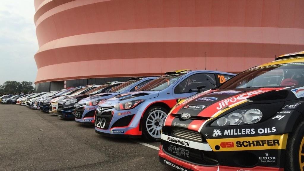 автомобили WRC