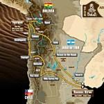 Маршрут ралли-марафона Дакар-2015