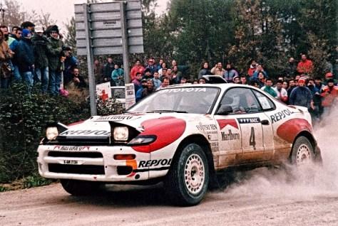 Toyota Celica GT-Four (ST185) - Карлос Сайнс - Ралли испании 1992