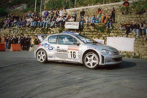 Ралли Италии 2000 - Маркус Гронхольм - Пежо 206