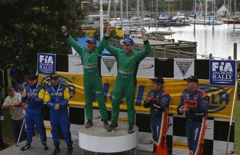 Хайден Паддон 2007 - первая победа в ралли - Новая Зеландия