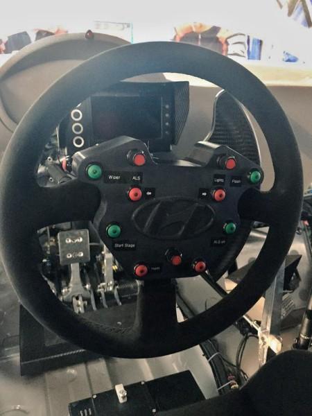 Новое рулевое колесо Хендэ