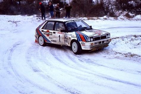 Ралли Монте-Карло 1987 -Юха Канккунен - Лянча