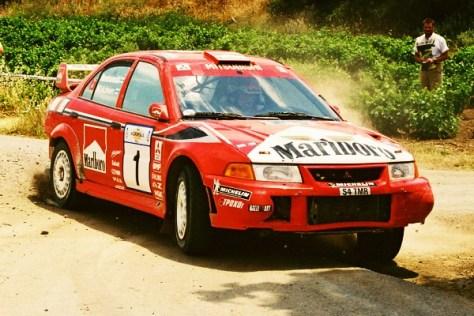 Ралли Акрополис 1999 - Томми Мякинен - Мицубиси