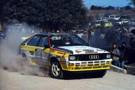 Ралли Аргентины 1984 - Стиг Блумквист - Ауди