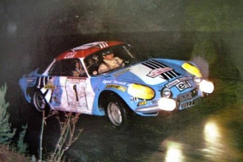 Тур де Корс - Ралли Франции 1973 - Жан-Пьер Николя - Мишель Виал - Alpine-Renault A110 1800