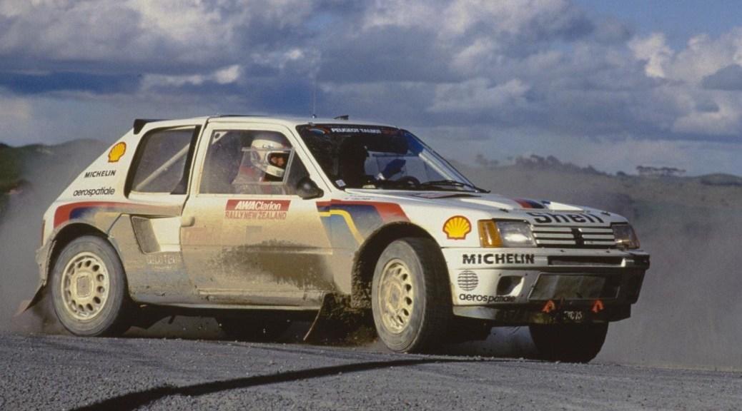 Ралли Новой Зеландии 1985 - Тимо Салонен - Пежо 205 Т16