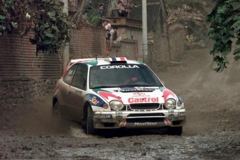Ралли Китая 1999 - Дидье Ориоль и Дени Жироде - Тойота