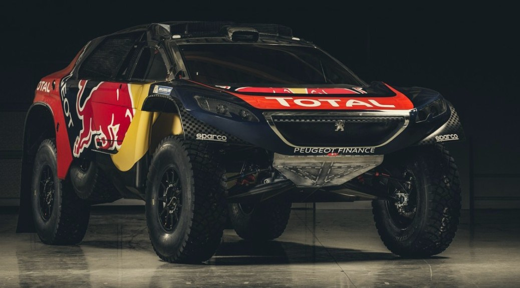 Ралли Дакар 2016 - Peugeot 2008 DKR16