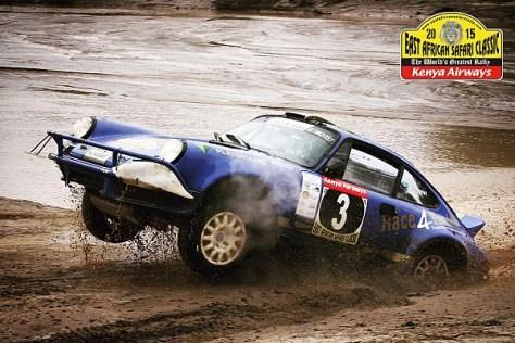 Сафари классик ралли 2015 - Стиг Блумквист - Стефан Приво - Порше 911