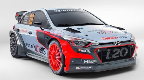 Hyundai Motorsport N - Hyundai i20 WRC '16.