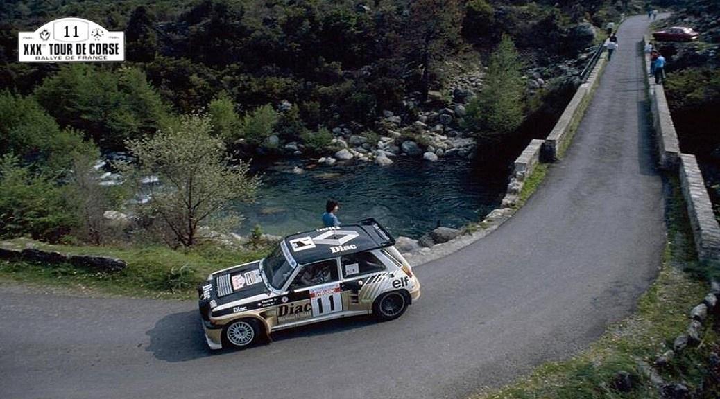 Тур Корсики 1968 - Франсуа Шариот - Рено