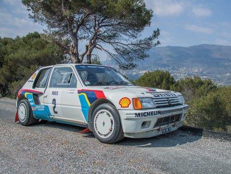 Peugeot 205 Turbo 16 Evolution 1 Group B - Ари Ватанен - 1985