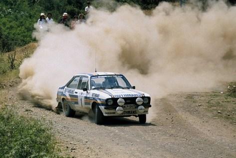 Акрополис ралли 1981 - Ари Ватанен - Форд