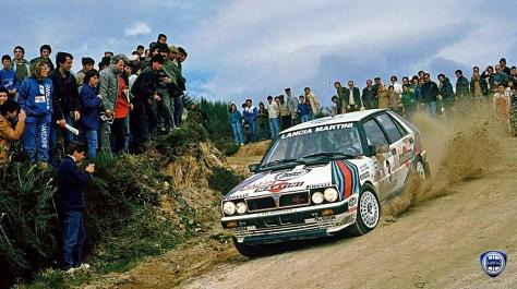 ралли Португалии 1987 - Маркку Ален - Лянча