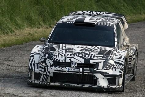 Volkswagen Polo WRC 2017 - тесты в Германии