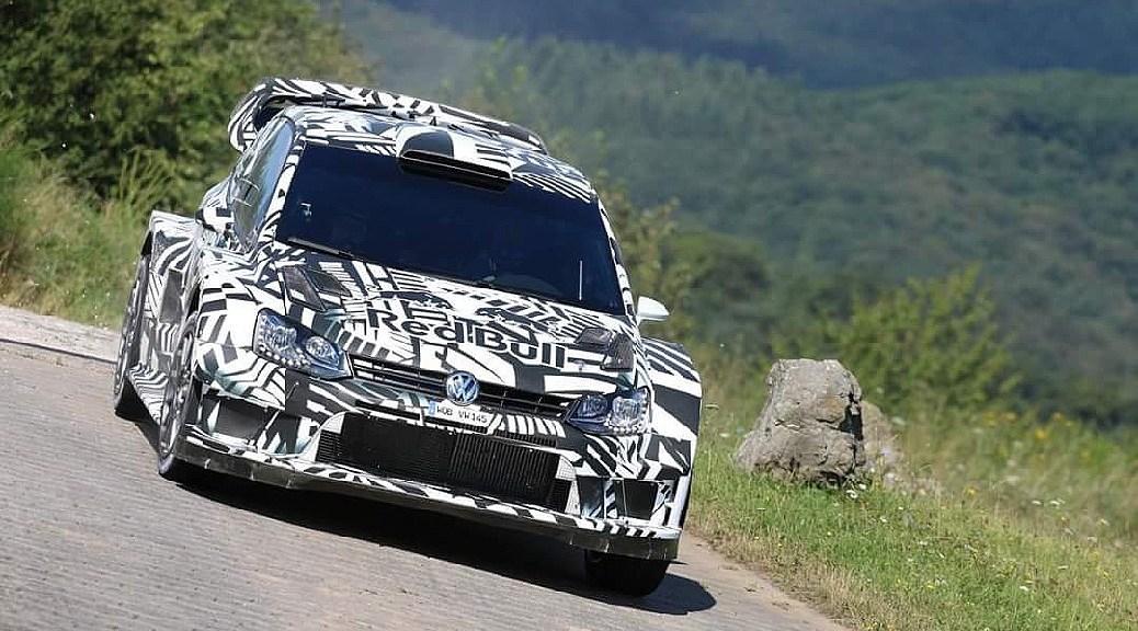 Volkswagen Polo R WRC 2017 - тесты в Германии